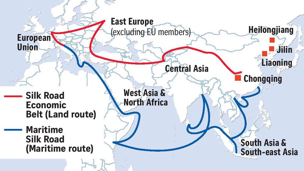 شبکه ریلی پرسرعت جنوب شرق آسیا را در می نوردد