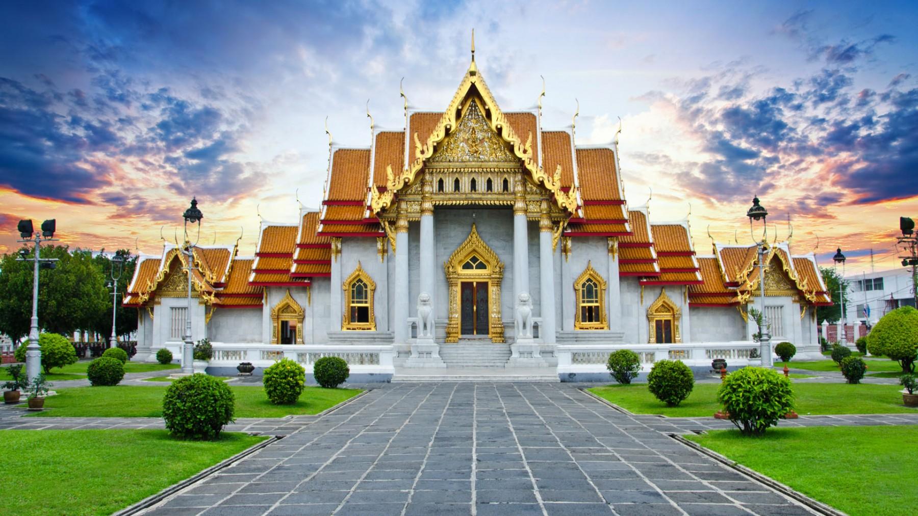مشهورترین معابد تایلند