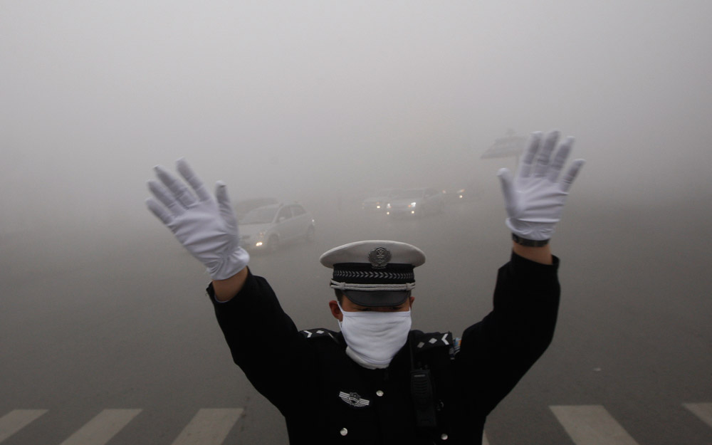 پلیس محیط زیست در چین