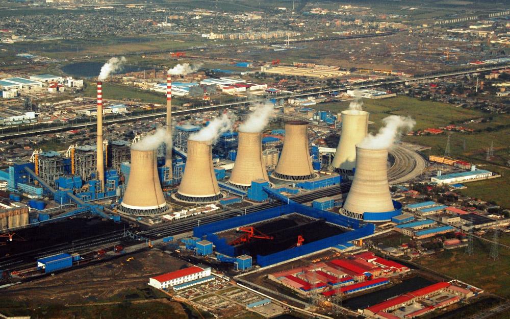 توقف ساخت 103 نیروگاه در چین