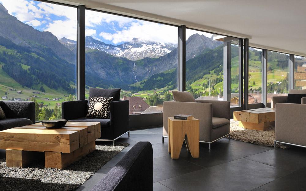 هتل کمبریان، اقامتگاهی لوکس در آلپ سوئیس