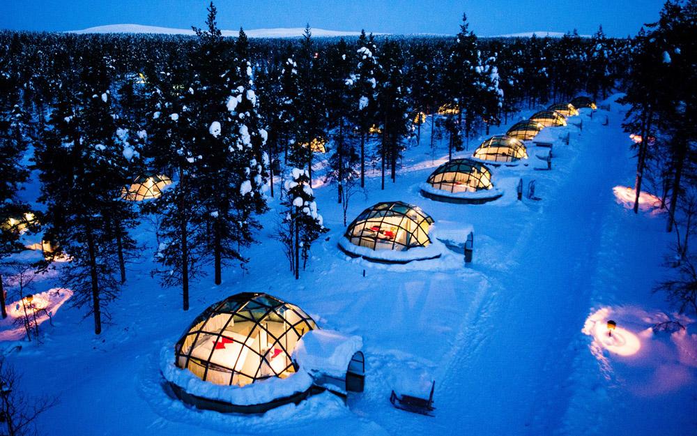 یک تجربه زمستانی واقعی در هتلی خاص در فنلاند