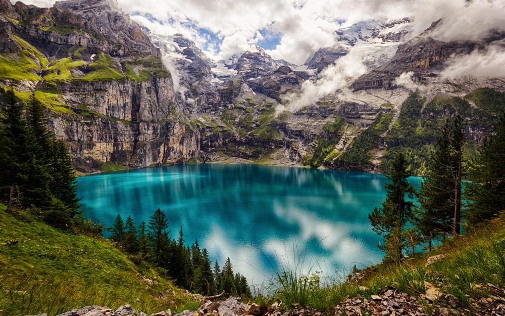 اوشینن سوئیس، دریاچه ای برای تمام فصول