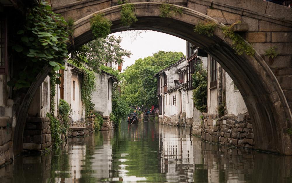 بازدید از شهرهای آبی نزدیک سوژو و شانگهای