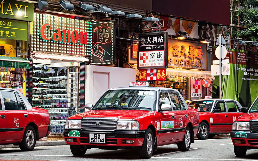 راهنمای تاکسی گرفتن در هنگ کنگ