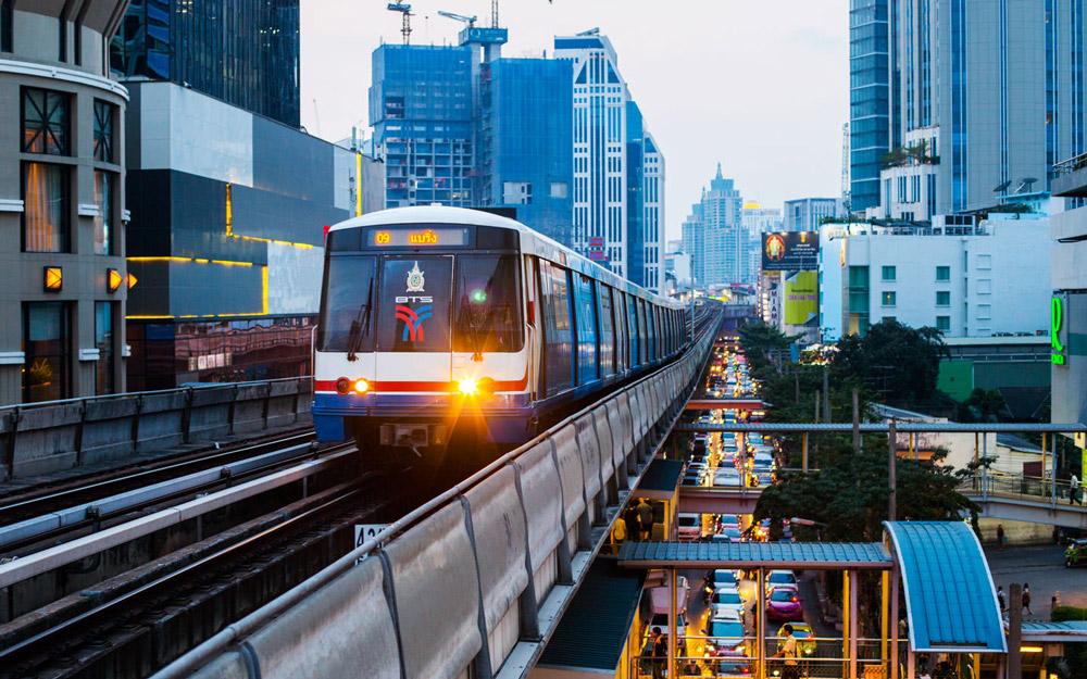 شبکه قطارهای شهری بانکوک