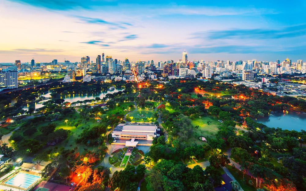 بازدید از پارک لومفینی بانکوک در تور تایلند
