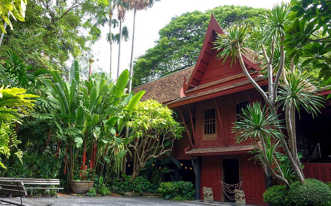 بازدید از خانه جیم تامپسون در تور تایلند