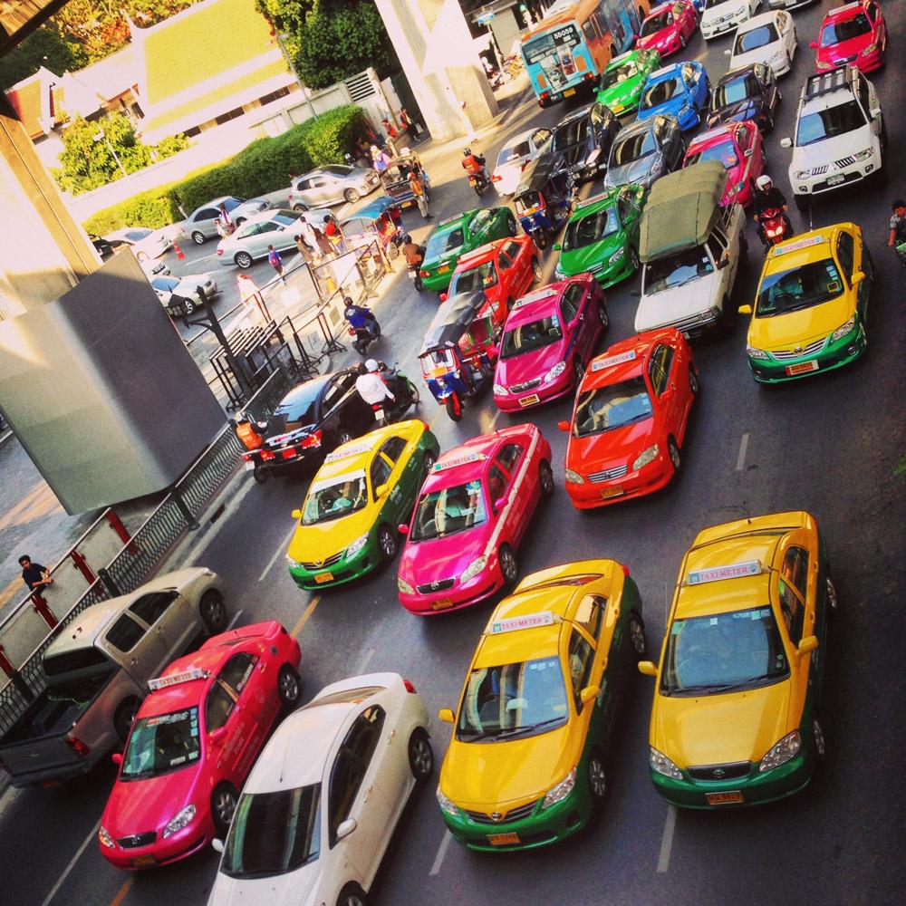 تاکسی سوار شدن در تور تایلند چه قدر هزینه دارد؟