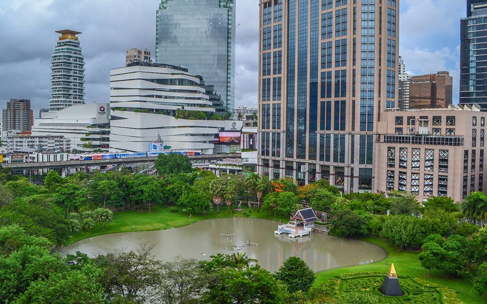بازدید از پارک بنجاسیری در تور تایلند