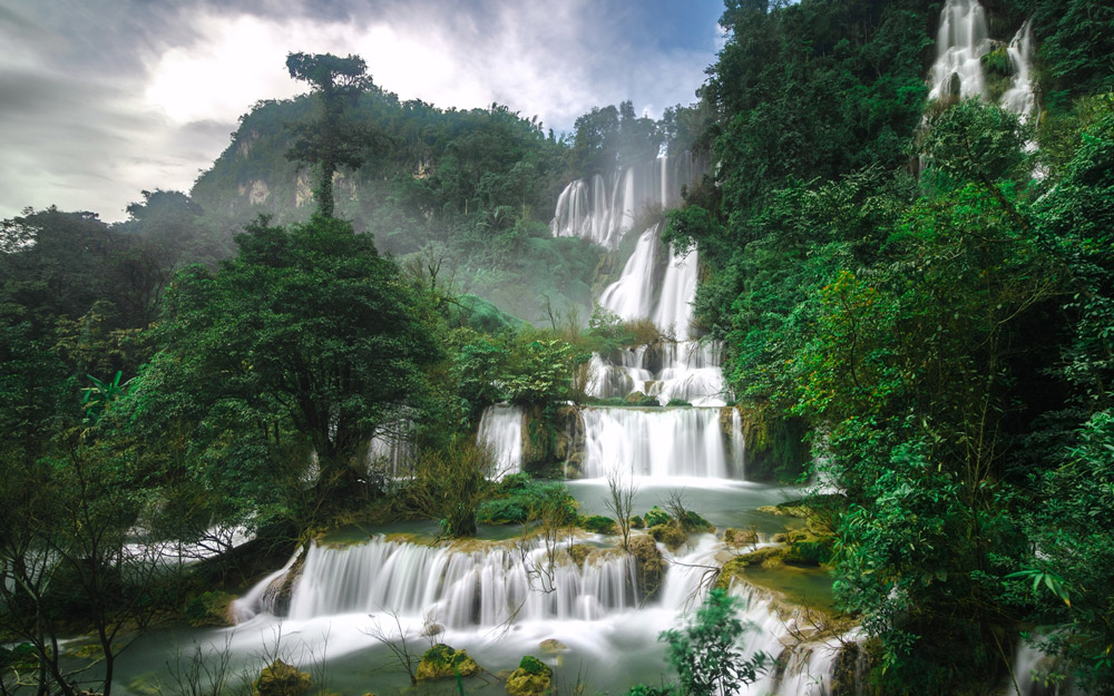 جاذبههای طبیعی تور تایلند: آبشار تی لو سو