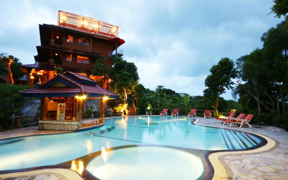 بهترین هتل های کو فانگان برای جشن ماه کامل