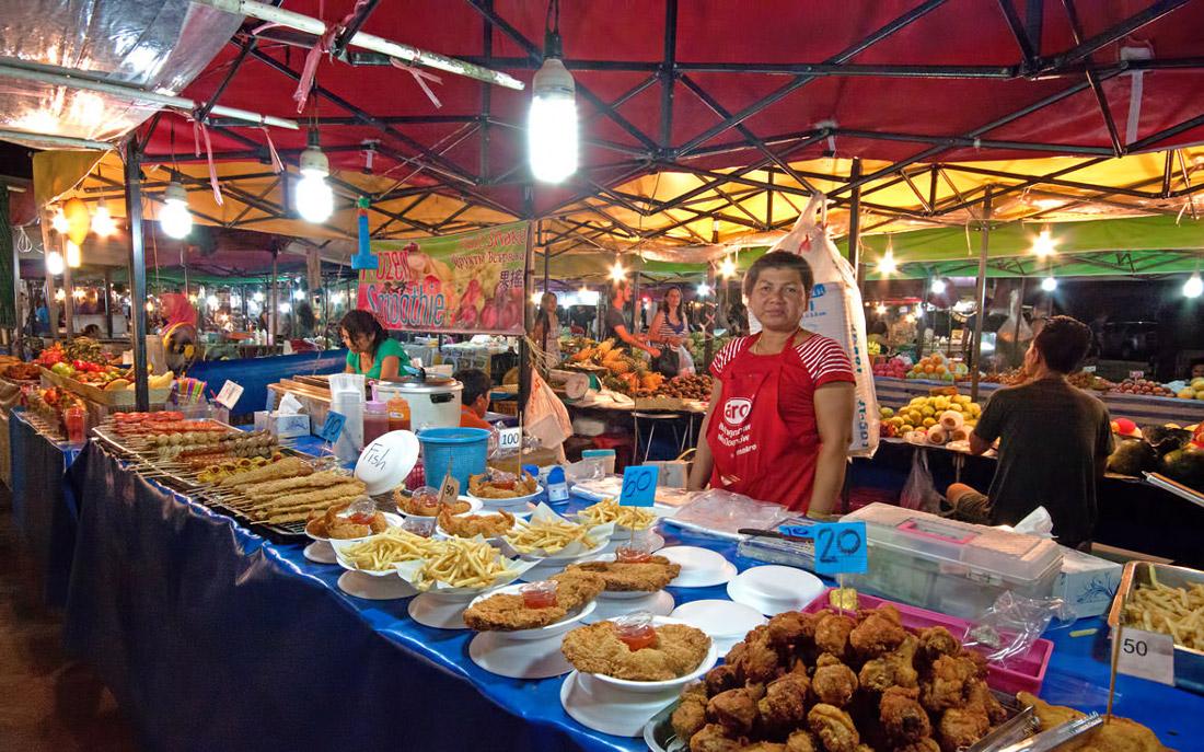 بهترین بازارهای شبانه پوکت