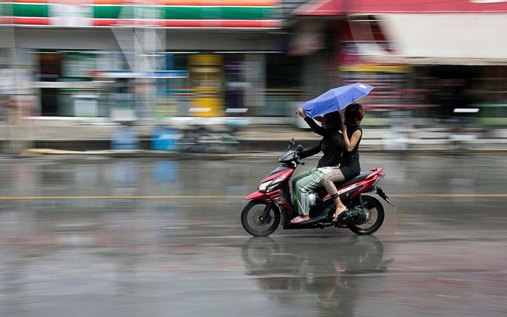 فصل بارانی تایلند