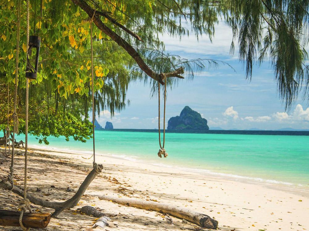 پنج تا از زیباترین سواحل تایلند