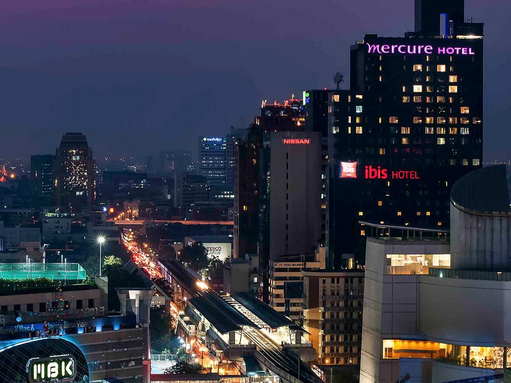 هتل مرکور سیام بانکوک