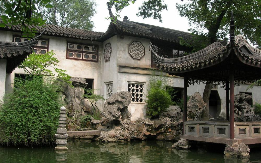 زیباترین باغ های چین