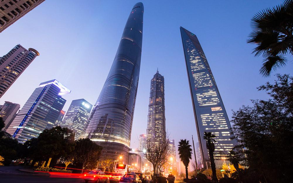 ده تا از بلندترین آسمان خراش های چین