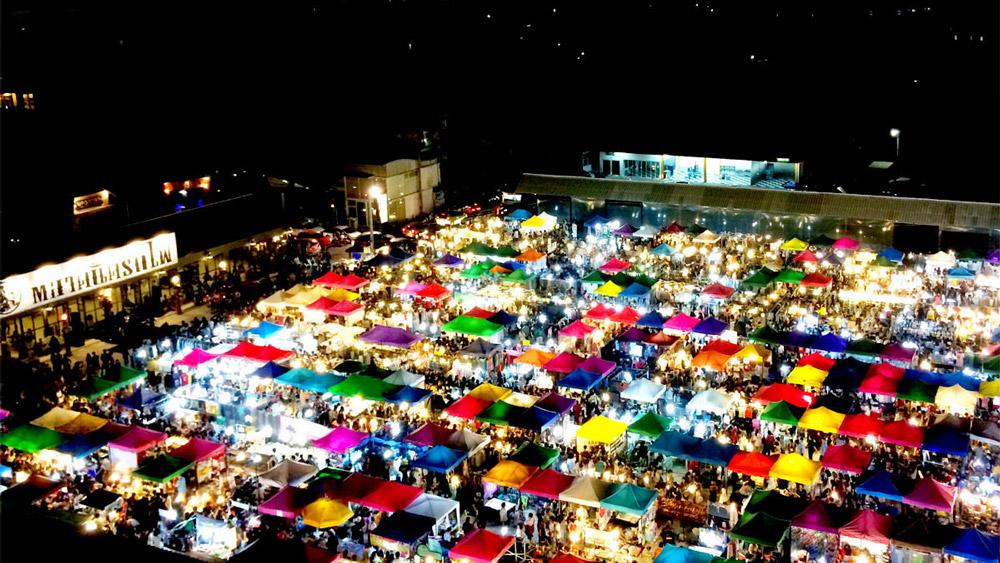 پنج تا از بهترین بازارهای شبانه بانکوک