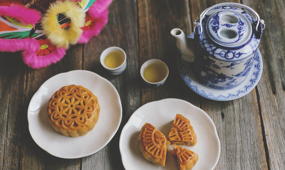 شیرینی کیک ماه چین