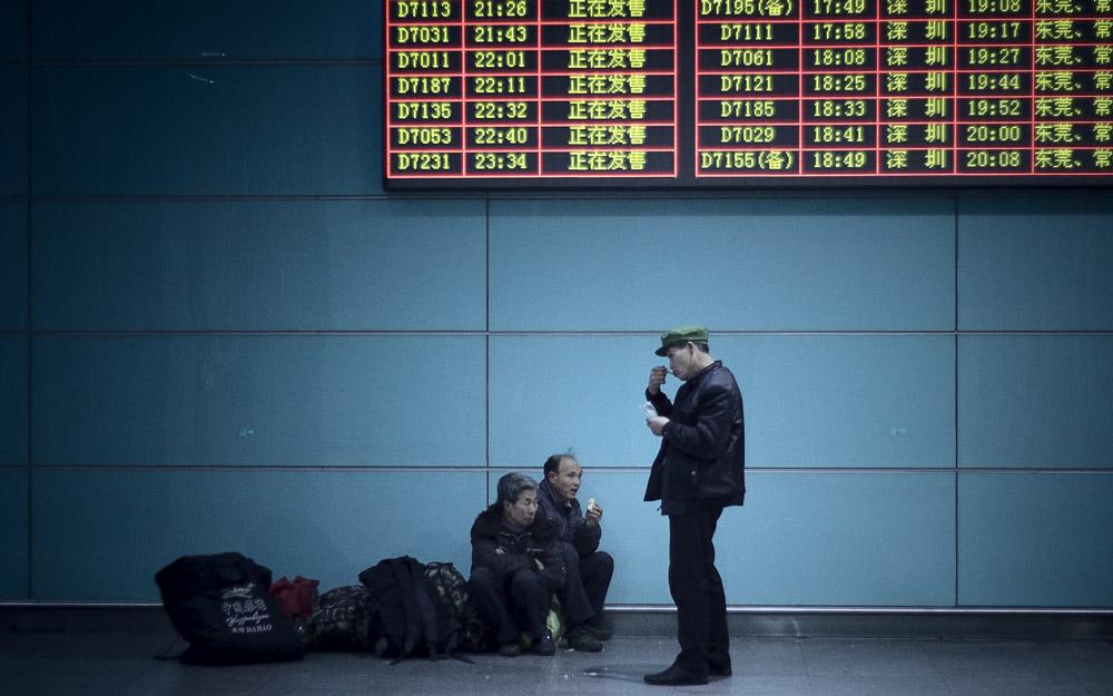 در چین چگونه قطار سوار شویم