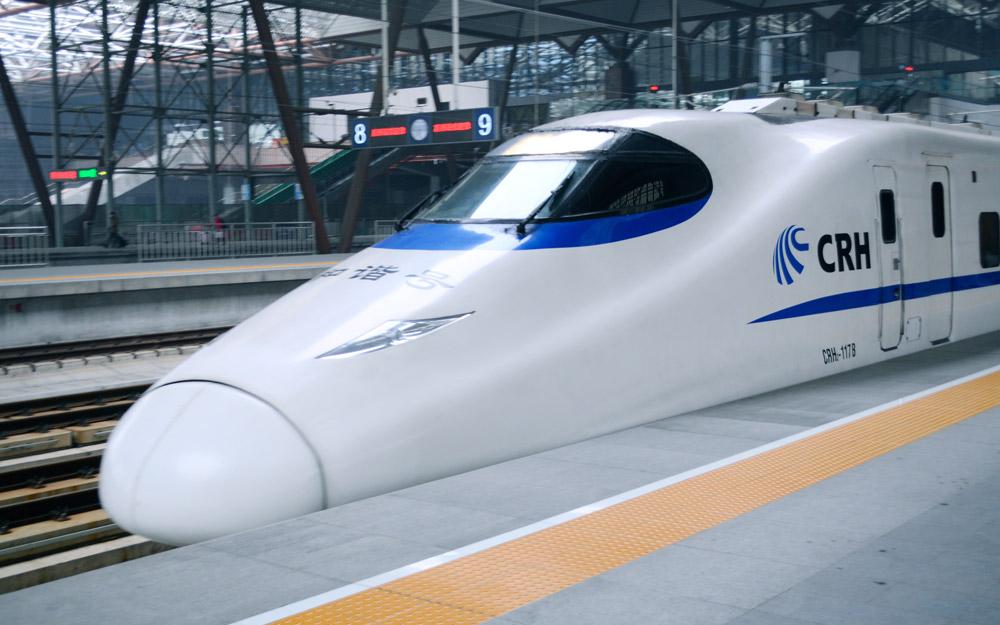 توسعه و نقشه قطارهای پر سرعت چین