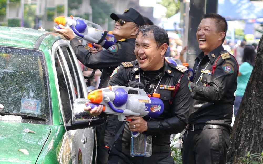 جشن سونگ کران در بانکوک