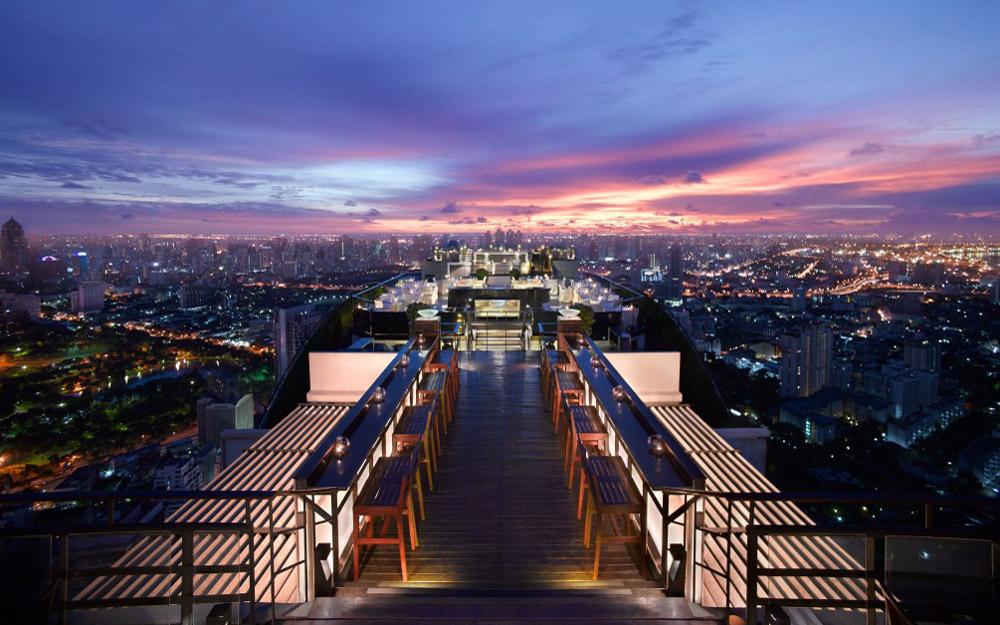 پنج رستوران با مناظر حیرت آور در بانکوک