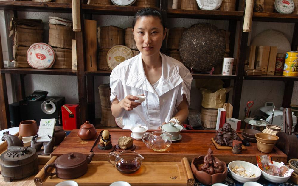 انواع مختلف چای در چین