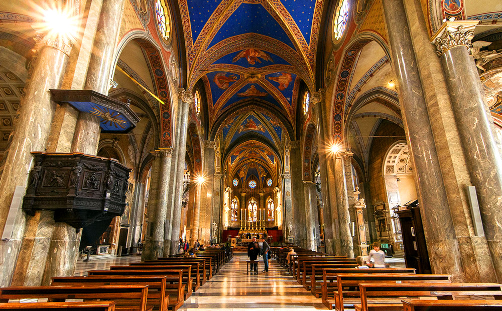 بازدید از هشت کلیسای بسیار زیبای رم در مدت تور ایتالیا