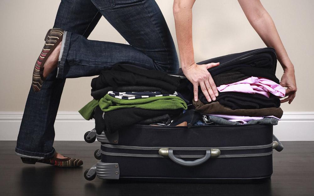 توصیه هایی مهم برای بستن چمدان