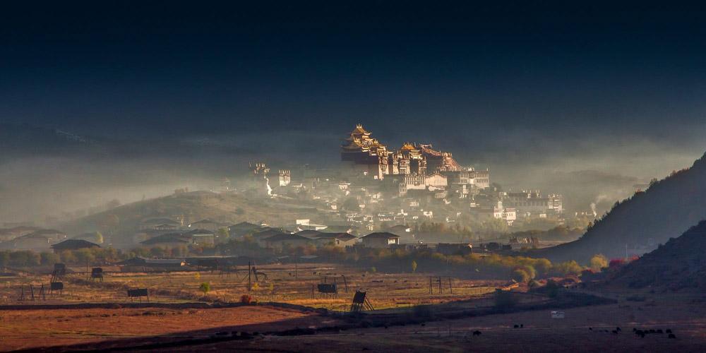 صومعه سونگ زانلین، جواهر مقدس شانگری لای چین
