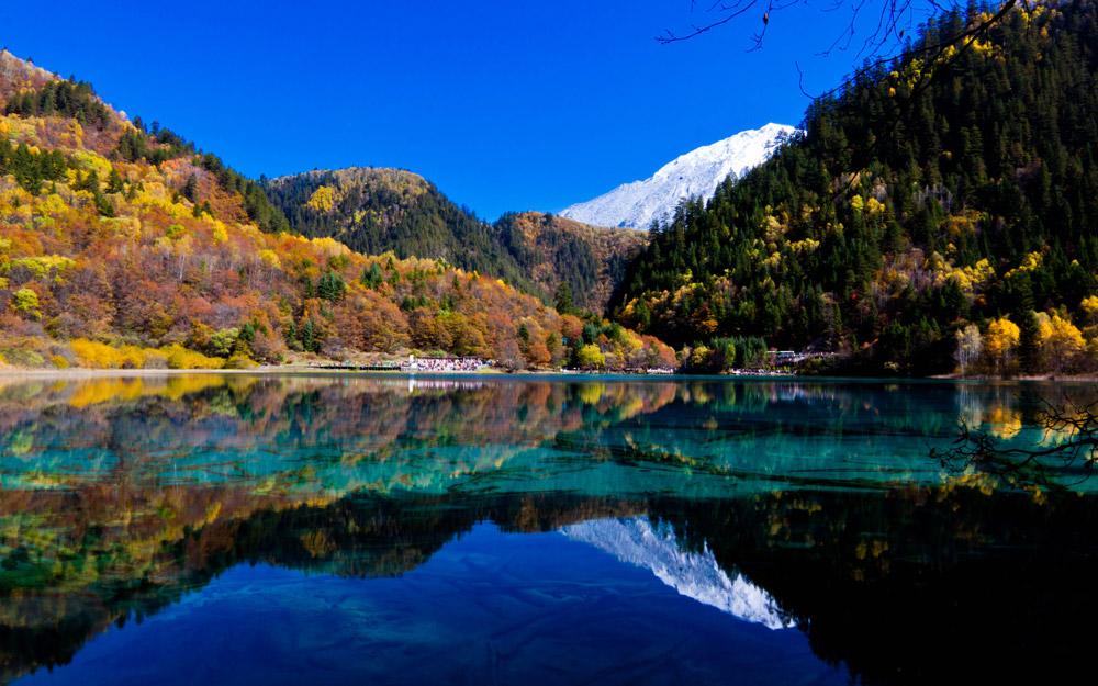 مناظر سحرانگیز دره Jiuzhaigou در چین