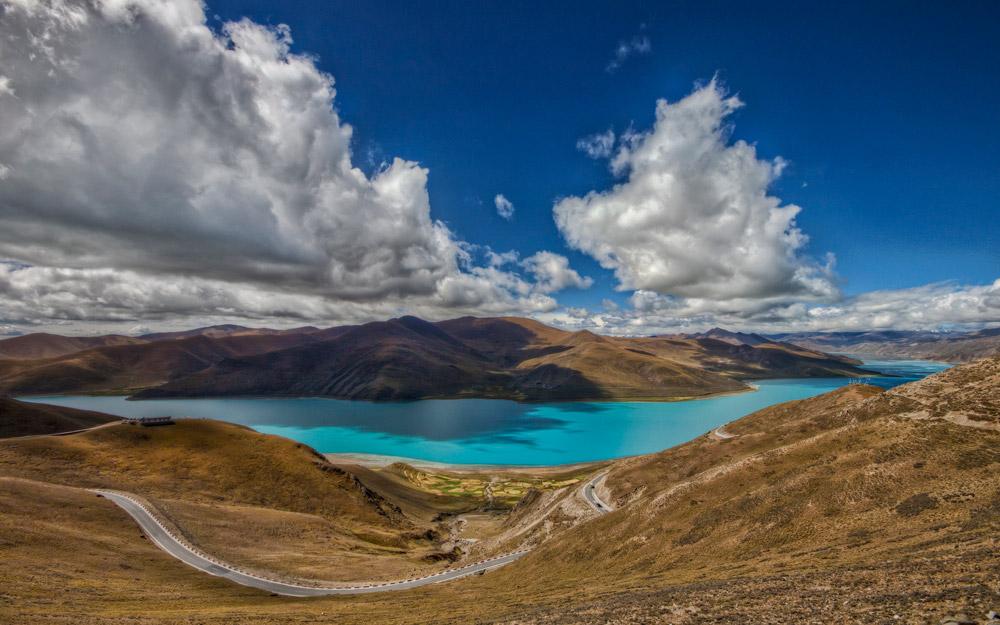 سفر به دریاچه مقدس Yamdrok تبت در تور چین