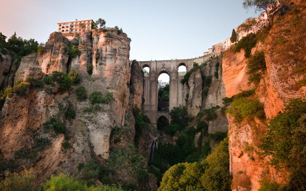 شهر حیرت آور روندا در اسپانیا
