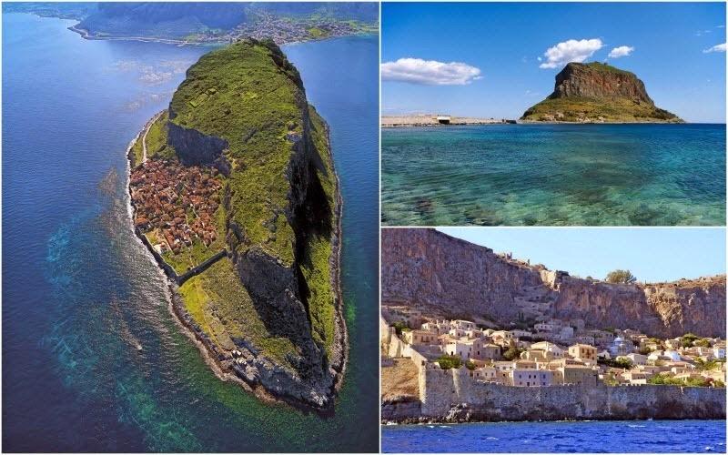 مونمواسیا، شهر پنهان یونان