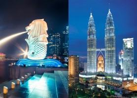 تور مالزی سنگاپور * 8 روز * تور کوالالامپور 4 شب + تور سنگاپور 3 شب * پاییز 96 *