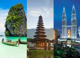 تور  تایلند، مالزی، اندونزی