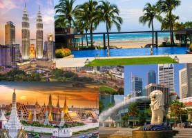 تور  تایلند، سنگاپور، اندونزی