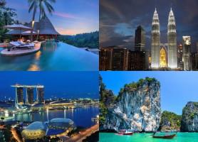 تور  تایلند، مالزی، سنگاپور، اندونزی