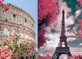 تور ترکیبی اروپا (9 روز) ایتالیا + فرانسه