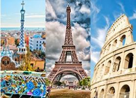 تور اروپا نوروز 97 * تور نوروز 97 ایتالیا اسپانیا فرانسه* تور رم 4شب+ تور بارسلون 3شب+ تور پاریس 3شب چارتر Alitalia نوروز 97