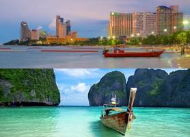 تور تایلند (تور پاتایا + تور پوکت) ماهان