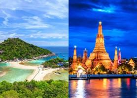 تور تایلند 8روز (تور بانکوک 3شب + تور سامویی 4 شب)، پرواز مستقیم ماهان،  پاییز و زمستان 96