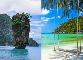 تور تایلند 8روز (تور  پوکت 4شب + تور سامویی 3شب) تابستان 96: تور ترکیبی تایلند 8روز پوکت + ساموئی