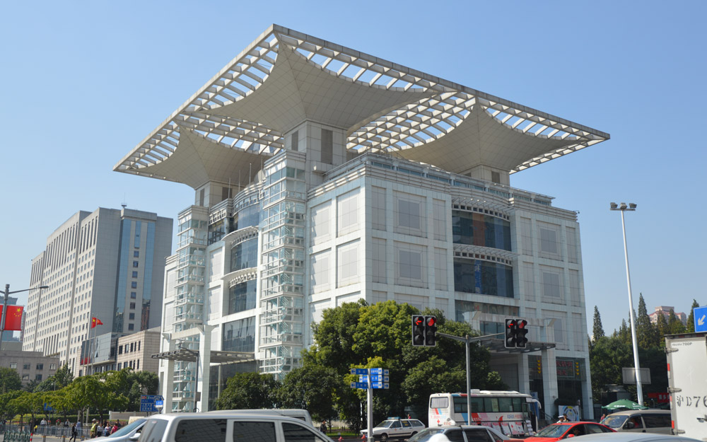 سالن نمایشگاهی توسعه شهری، شانگهای، چین