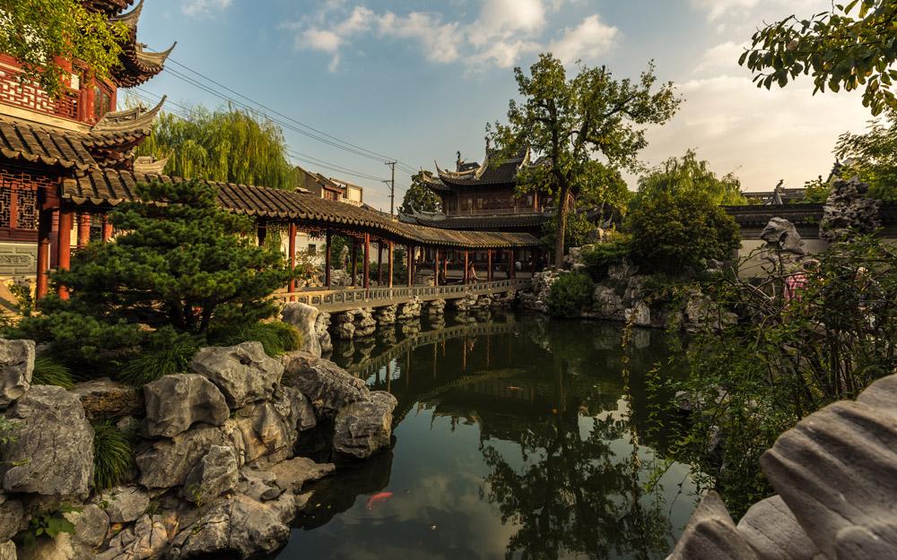 باغ یو، شانگهای، چین