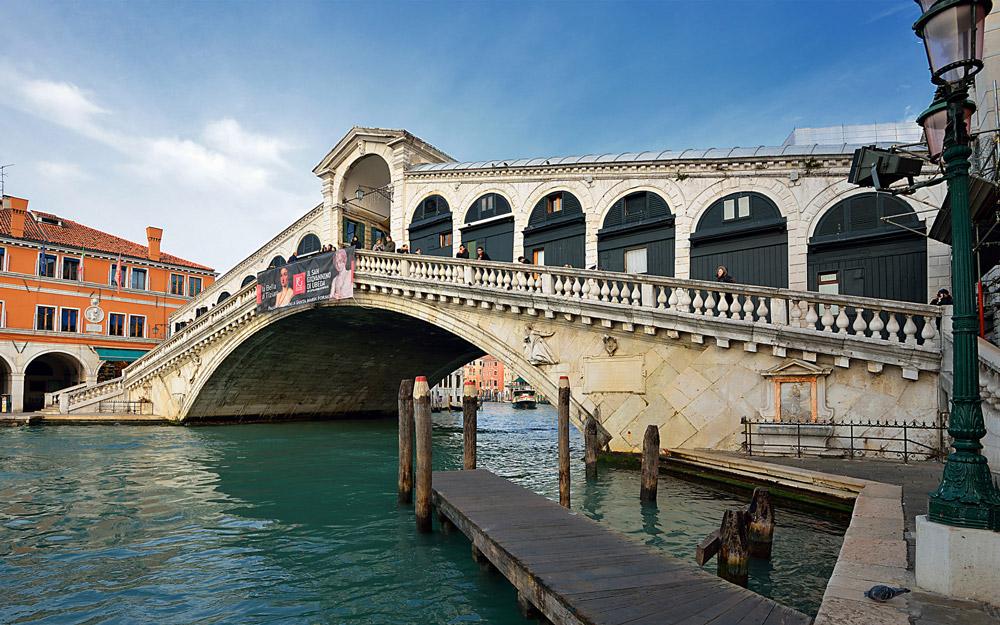پل ریالتو، ونیز، ایتالیا