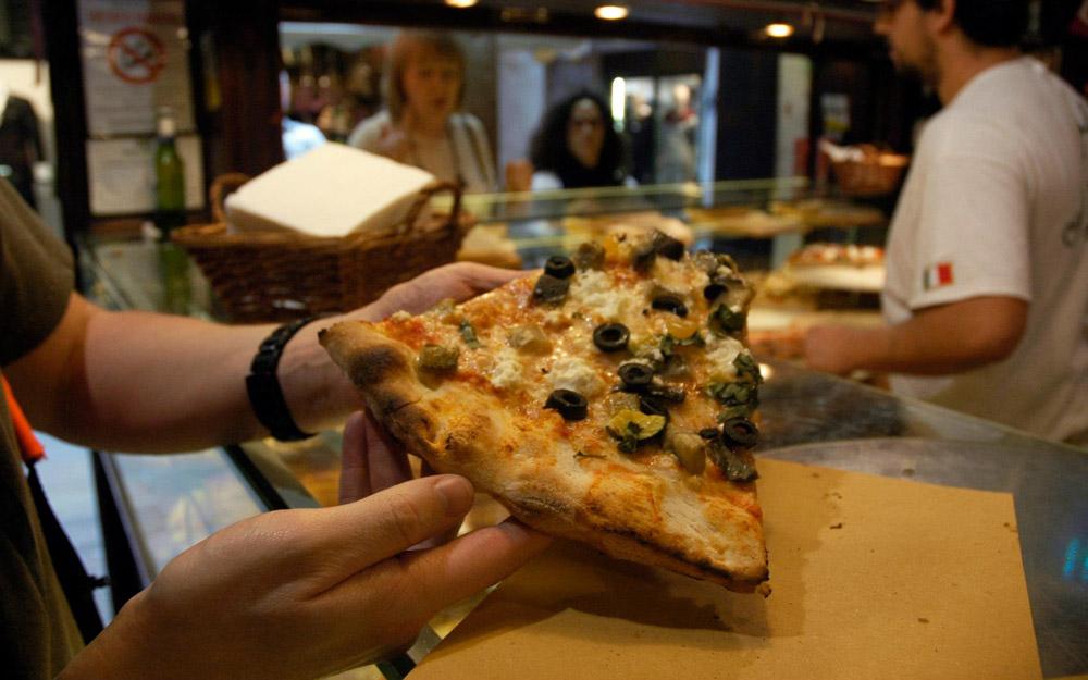 پیتزا فروشی آنتیکو فورنو، ونیز، ایتالیا