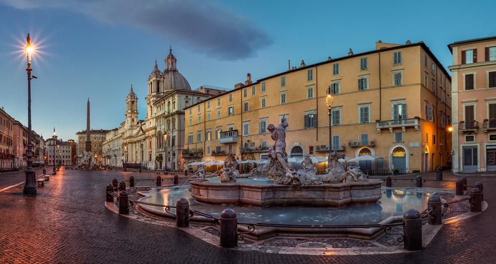 میدان ناوونا، رم، ایتالیا